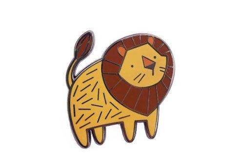 Leeuw pin