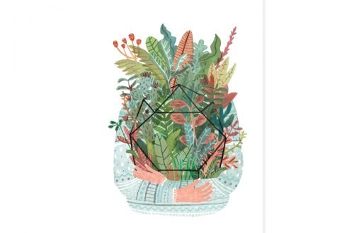 Plant love – Teken-Ing