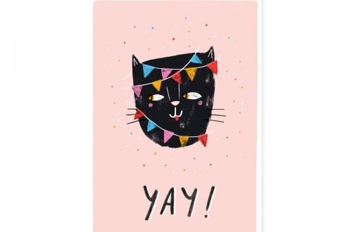 Yay cat – Teken-Ing