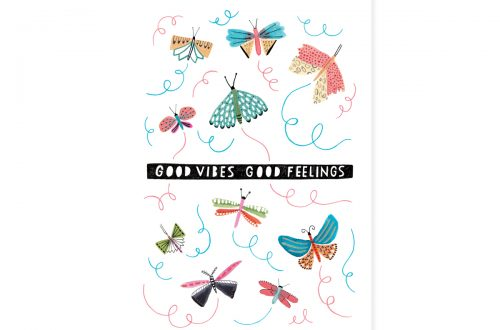 Good vibes, Good feelings – Teken-Ing