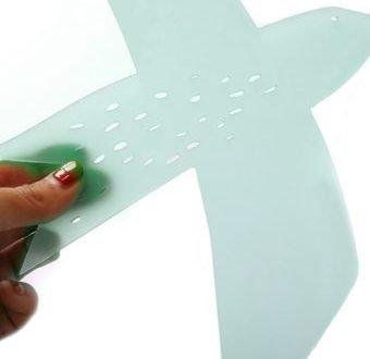 'Dipper' raamhanger acrylaat Satin Water (mat) – La Miseto