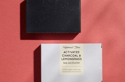 Aktieve kool & Citroengras zeep