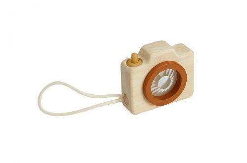 houten minicamera / caleidoscoop Plan Toys